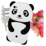 <พร้อมส่ง> กรอบไอโฟน4 เคสซิลิโคน iPhone4 รูปหมีแพนด้า