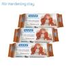 NARA ชุดดินผสมเยื้อกระดาษ ดินญี่ปุ่น Air Hardening Clay (Terracotta3 Pack)