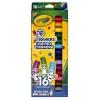 Crayola สีเมจิกล้างออกได้ 16 สี แท่งเล็ก