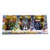 AomAmm Toys Box Set หุ่นยนต์แปลงร่าง COMBINE ANDROID 3 ตัว