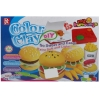 BKL TOY ของเล่น แป้งโดว์ แป้งปั้น ชุดแฮมเบอเกอร์ Color ClayHamBurgs 729D-2