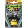 Crayola 8 Ct.Crayons: Minions Eye Matie (1ชุด = 2 ชิ้น)