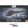 Bandai Scale 1/72 Star Wars X-Wing Fighter Poe dedicated machine(Plastic Model) (Multicolor)