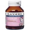 Blackmores Marine Q10 Collagen Advance Cap 30 เม็ด แบลคมอร์ส มารีน คิวเทน คอลลาเจน แอดวานซ์