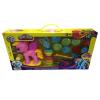 Khonglendee ชุดแป้งโดว์My LittlePonyสีชมพู(พร้อมแป้งโดว์6สี+แม่พิมพ์)