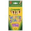 Crayola สีไม้สำหรับเด็กเล็ก 8 แท่ง