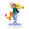 Vividkids Pokemon g.e.m figures - โมเดล ซาโตชิ + ปิกาจู + ฮิโตคาเงะ