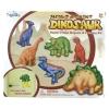 Mould & Paint Dinosaur ชุดทำ Magnet ปูนปลาสเตอร์ระบายสี เซทไดโนเสาร์
