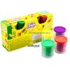 ProudNada Toys ของเล่นเด็กชุดแป้งโดว์ 4 กระปุก Color Dough NO.6838