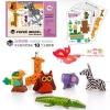 Todds & Kids Toys Joan Miro 3D paper Model ลายสัตว์(Multicolor)