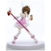 โมเดลฟิกเกอร์แท้ การ์ดแค็ปเตอร์ซากุระ Cheerful Pink นำเข้าจากญี่ปุ่น