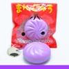 SEIYASHOP สกุชชี่ Mini Manju bun สกุชชี่ ซาลาเปา มันจู กลิ่นองุ่นขนาด 5cm.