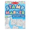 Melissa & Doug Stamp Marker Activity Pad 20 แผ่น - Blue