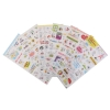 Cute 6 Sheet Cartoon Pig Paper Stickers for Scrapbook CalendarDecor DIY