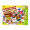 ProudNada Toys ชุดแป้งโดว์ SANDWICH พร้อมแป้งโดว์ 5 สี + แม่พิมพ์(NO. 5804 - B)