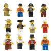Shuning Kids Chic Lots 10 T Minifigures Figures Men People MinifigsGrab Bag Random Multicolor