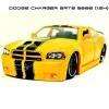 JADA โมเดลรถ DODGE CHARGER SRT8 2006 สีเหลืองคาดดำ (Scale 1:24)
