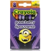 Crayola 8 Ct.Crayons: Minions Gone Batty (1ชุด = 2 ชิ้น)