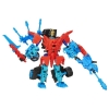 Transformers Age of Extinction Construct-Bots Dinobot WarriorsAutobot Drift and Roughneck Dino (Blue)
