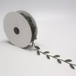 BolehDeals Vintage Satin Leaf Leaves Vine Garlands Ribbon Sew OnLace Trims Craft
