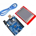 UNO R3 MEGA328P For Arduino + 2.4 Inch TFT Touch LCD Screen