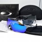 แว่นตาปั่นจักรยาน Oakley Radar EV Zero สีเทา (เลนส์มัลติคัลเลอร์สีฟ้า)