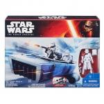 Star Wars Episode VII The Force Awakens 3.75-Inch Vehicle FirstOrder Snowspeeder (White)
