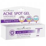 Provamed Rapid Clear Acne Spot Gel 10g เจลแต้มสิวสูตรเร่งด่วน