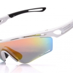 แว่นตาปั่นจักรยาน ROBESBON Tralyx Style สีขาว