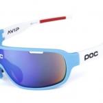 แว่นตาปั่นจักรยาน POC DO Blade AVIP สีขาว-ฟ้า