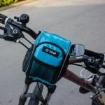 กระเป๋าคาดแฮนด์ B-SOUL กันน้ำ BIKE267 สีฟ้า