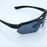 แว่นตาปั่นจักรยาน ROBESBON สีดำ