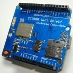 TI CC3000 WiFi Shield (Compatible With Arduino UNO / MEGA 2560)