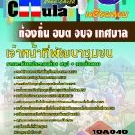แนวข้อสอบข้าราชการไทย ข้อสอบข้าราชการ หนังสือสอบข้าราชการเจ้าหน้าที่พัฒนาชุมชน ท้องถิ่น อบต เทศบาล อบจ อปท