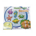 VcareForKids Mould & Paint SeaLife, ชุดทำ Magnet ปูนปลาสเตอร์ระบายสี เซทสัตว์ทะเล
