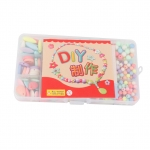 Colorful Acrylic Beads with Accessories DIY Kit Kids Toys