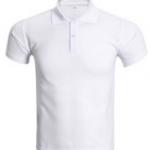 เสื้อโปโล สีขาวล้วน สำหรับคนตัวใหญ่ SHIRT003 มีของพร้อมส่ง