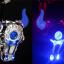 ไฟท้าย เลเซอร์ เฮฟวี่ ชาร์จได้ BIKE283 สีน้ำเงิน thumbnail 1