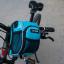 กระเป๋าคาดแฮนด์ B-SOUL กันน้ำ BIKE267 สีฟ้า thumbnail 4