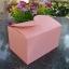 กล่องใส่คุ๊กกี้ ใส่ขนม สีชมพู 10 กล่อง BAKE074 thumbnail 2