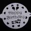 แผ่นแต่งหน้าเค้ก แผ่นทำ ลายเค้ก 3 แบบ CAKE STENCILS BAKE195 มีหูจับ thumbnail 3