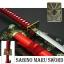 JAPAN ดาบซามูไร คาตานะ Sabino Maru Sword + แท่นวาง(ดาบซาบิมารุBleach) thumbnail 1