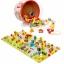 SK-Toys ร้อยเชือกลูกปัด 80 ชิ้นพร้อมจิ๊กซอว์ต่อเป็นพื้นเมือง 2 ลายเก็บในกระป๋อง thumbnail 2