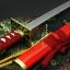 JAPAN ดาบซามูไร คาตานะ Sabino Maru Sword + แท่นวาง(ดาบซาบิมารุBleach) thumbnail 3
