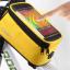 กระเป๋าคาดเฟรม ROSWHEEL ใส่มือถือสัมผัสได้ มีช่องออกหูฟัง BIKE290 สีเหลือง thumbnail 1