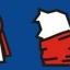 หมวกกันลมหนาว กันหิมะ BIKE281 แดง/ดำ thumbnail 4