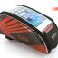 กระเป๋าคาดเฟรม B-SOUL ใส่มือถือสัมผัสได้ BIKE310 น้ำเงิน/แดง/เขียว thumbnail 5