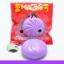 SEIYASHOP สกุชชี่ Mini Manju bun สกุชชี่ ซาลาเปา มันจู กลิ่นองุ่นขนาด 5cm. thumbnail 1