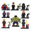 8 pcs/set Marvel &DC Avengers the Captain America thumbnail 2