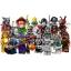 LEGO Minifigures Series 14 Minifigures Complete 16 Packs 71010 thumbnail 1